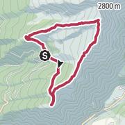 Map / Saun, Riedspitze, Weisspitze