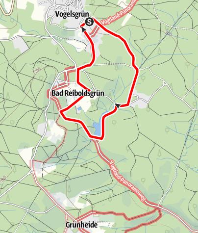 Mapa / Heilstättenrundweg