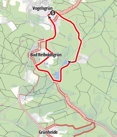 Karte / Heilstättenrundweg