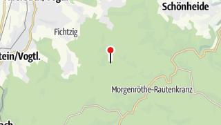 "Mapa / Ferienhaus ""Forsthaus"" Grünheide"