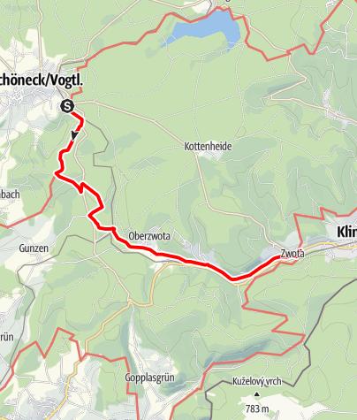 Map / Durchs Zwotaer Land 5