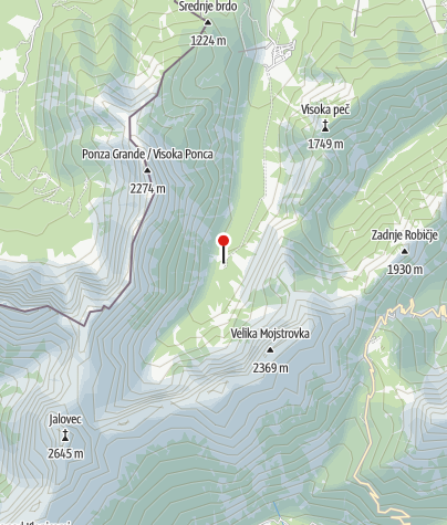 Map / Planinski Dom Tamar
