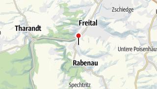 Karte / Friedhofskapelle Hainsberg