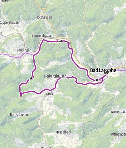Map / Ilsetaltour