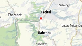 Karte / Friedhof Hainsberg