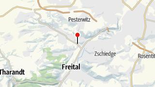 Karte / Friedhof Potschappel