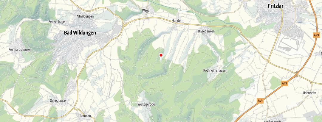 Map / Hirteneiche