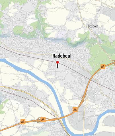 Karte / Friedhof Radebeul Ost