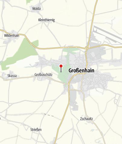 Karte / Stadtpark Großenhain