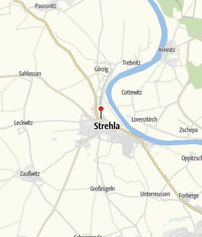 Karte / Schloss Strehla