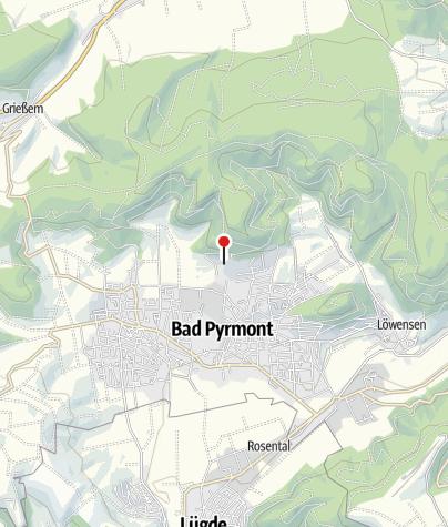 Karte / Bergkurpark