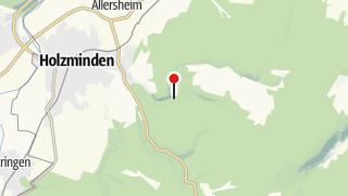 Karte / Aussicht ins Hasselbachtal