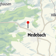 Map / Fahrradverleih, Center Parcs Park Hochsauerland