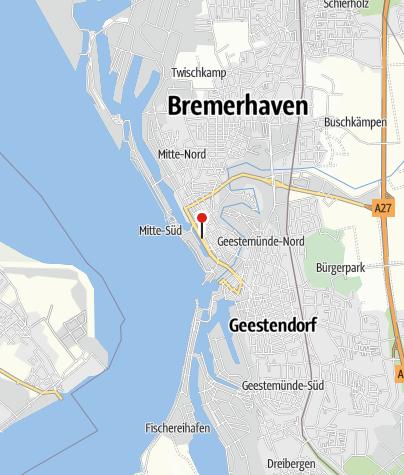 Karte / RadStation Hafeninsel