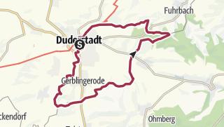 Karte / Eichsfelder Grenzspuren