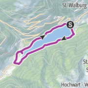 Map / Radtour entlang des Seewegs