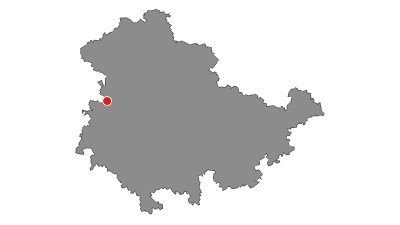 Map / Fernwanderweg - Rennsteig - Von Hörschel nach Blankenstein - Thüringer Wald