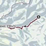 Map / ST24 AAT: Trenta - Bovec