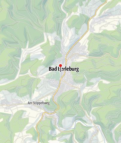 Map / Historische Stadt(ver)führung Bad Berleburg
