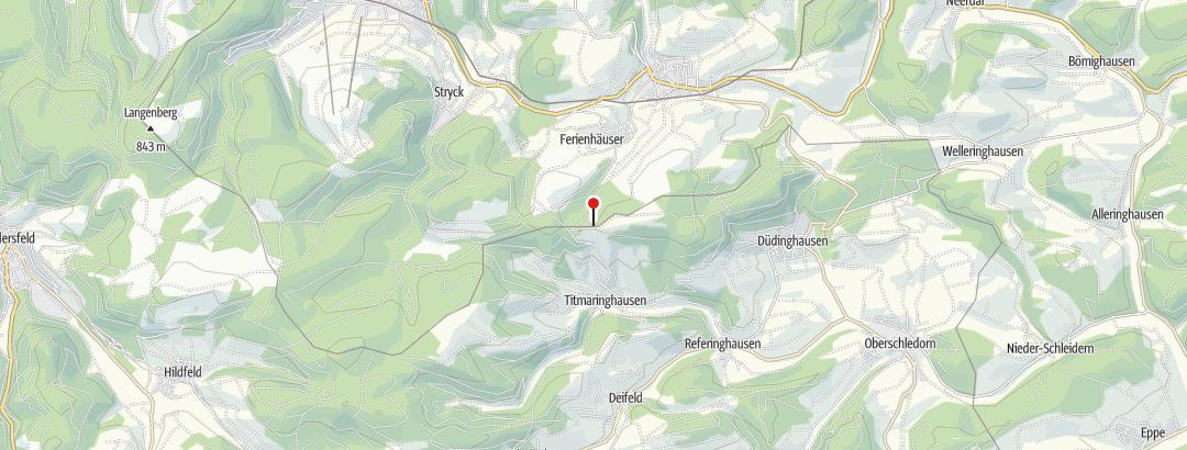 Map / Graf Stolberg Hütte