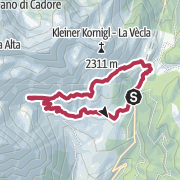 Map / Proveiser Almenwanderung