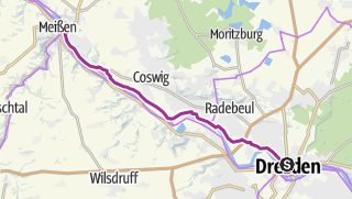 Karte / Herrlicher Radweg zur Porzellanhauptstadt