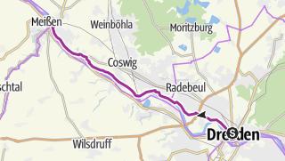 Map / Herrlicher Radweg zur Porzellanhauptstadt