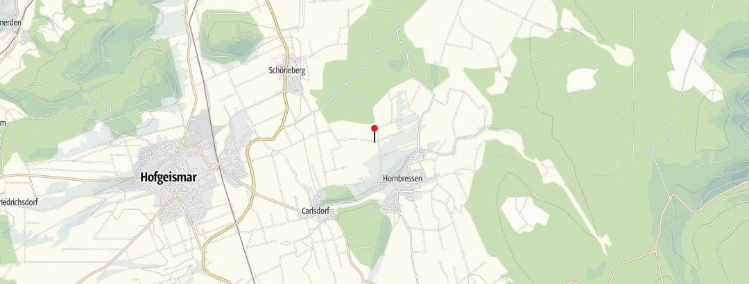 Karte / Friedenseiche bei Hombressen