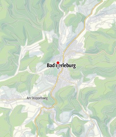 Map / Berleburger Schlemmertour