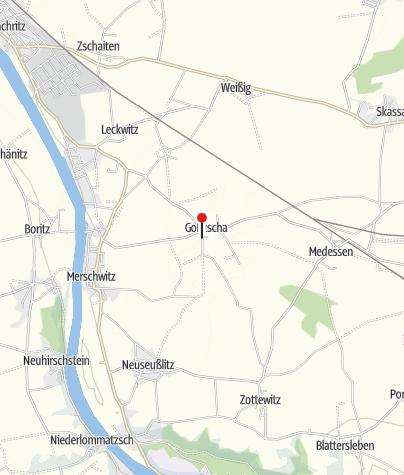 Karte / Campingplatz im Naturbad Goltzscha