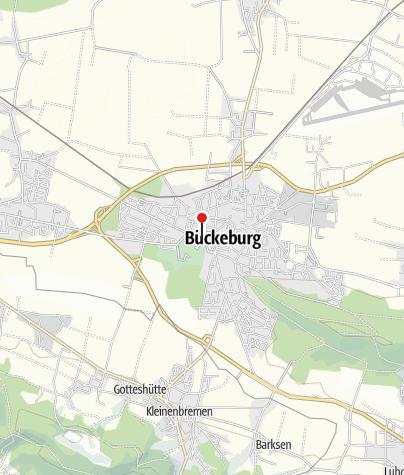 Karte / Tourist-Information Bückeburg