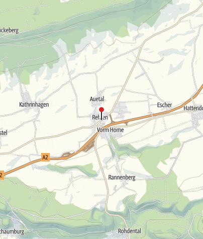 Karte / Gemeinde Auetal / i-Punkt