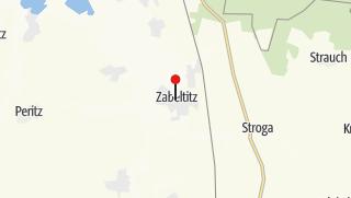 Karte / Gasthof Zabeltitz