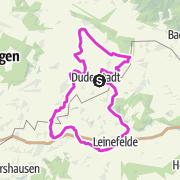 Karte / Eichsfeld-Tour