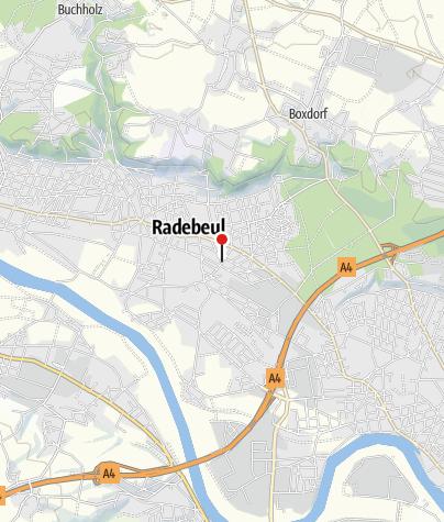 Karte / Tourist-Information Radebeul