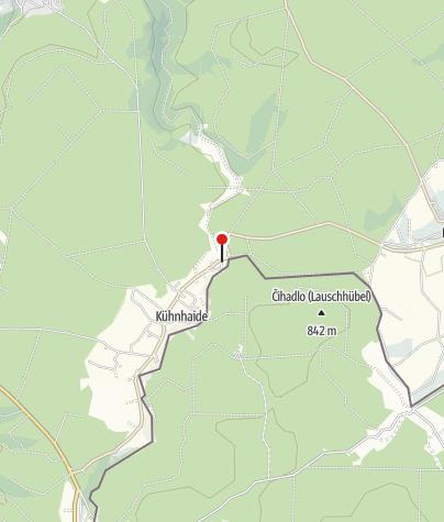 Karte / Gaststätte Schwarzwassertal