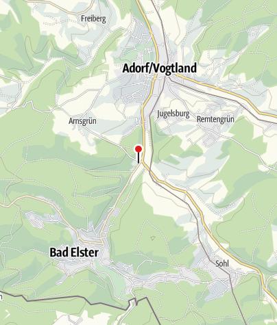 Karte / Stellplatz am Landhaus Adorf