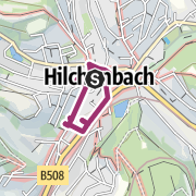 Map / Stadtrundgang durch Hilchenbach