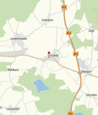 Karte / Schönfeld