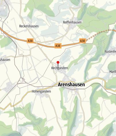 Karte / Kirchgandern