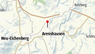 Karte / Kirchgandern, Dorfkirche