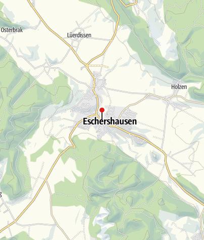 Karte / E-Bike-Ladestation in Eschershausen