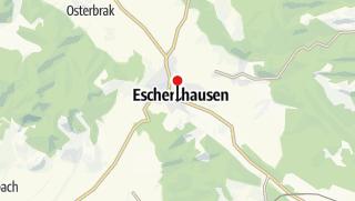 Karte / Elektroauto-Ladestation in Eschershausen