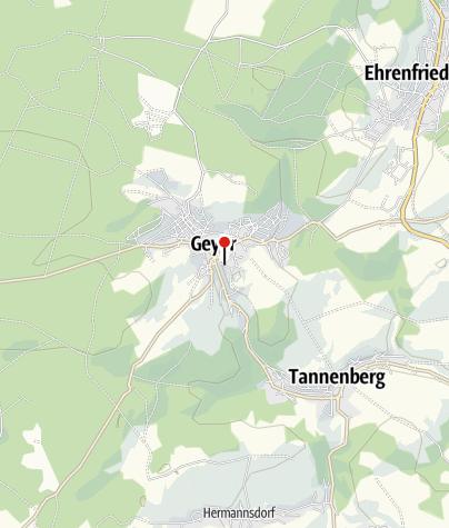 Karte / Kirmesrummel in Geyer