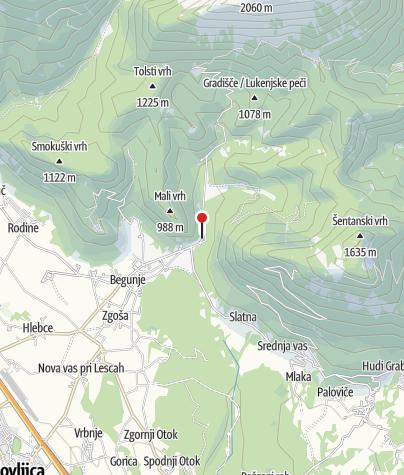 Map / Kamen Castle