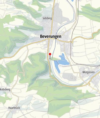 Karte / Bootshaus Beverungen