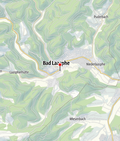 Map / Wohnmobilstellplatz Bad Laasphe Stadtmitte