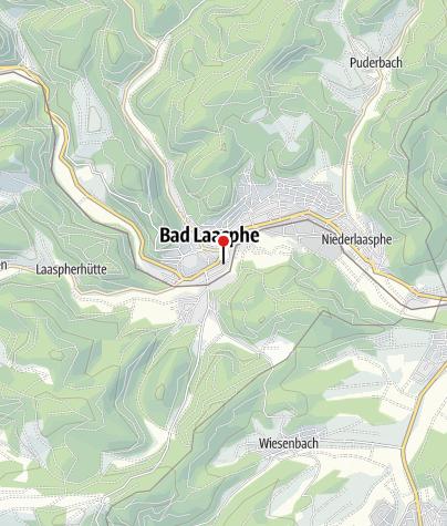Karte / Wohnmobilstellplatz Bad Laasphe Stadtmitte