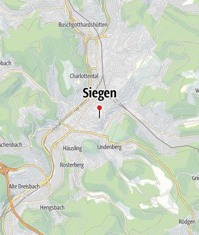 Karte / Oberes Schloss Siegen - Stammsitz des Hauses Nassau