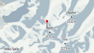 Karte / Triglav (2864 m)